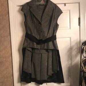 Ma Mandela Skirt Set with dress jacket